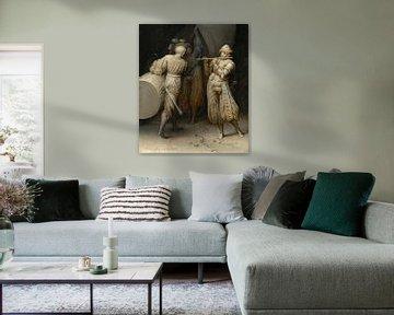 Drei Soldaten, Pieter Bruegel der Ältere