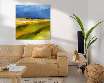 Küstenwiese von Andreas Wemmje