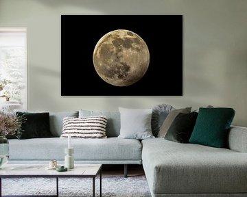 Mondfinsternis von Arie Jan van Termeij
