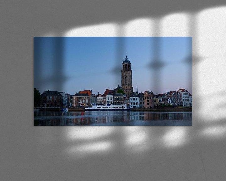Sfeerimpressie: Deventer skyline van Eddo Kloosterman