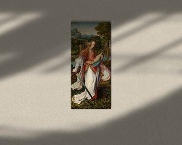 Die heilige Katharina, Meisterin von Frankfurt
