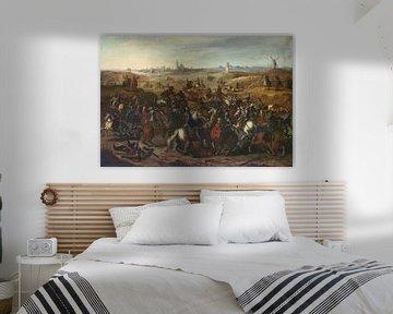 Schlacht zwischen Bréauté und Leckerbeetje auf der Vughterheide, 5. Februar 1600, Sebastiaan Vrancx