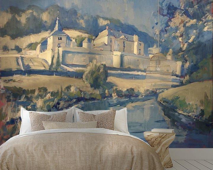 Beispiel fototapete: Château Neercanne an der Jeker von Nop Briex