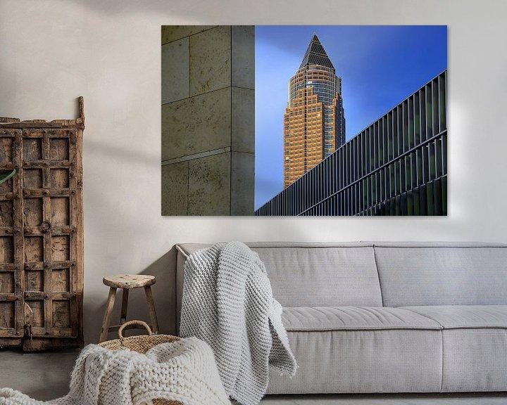 Beispiel: Messeturm Frankfurt von Patrick Lohmüller