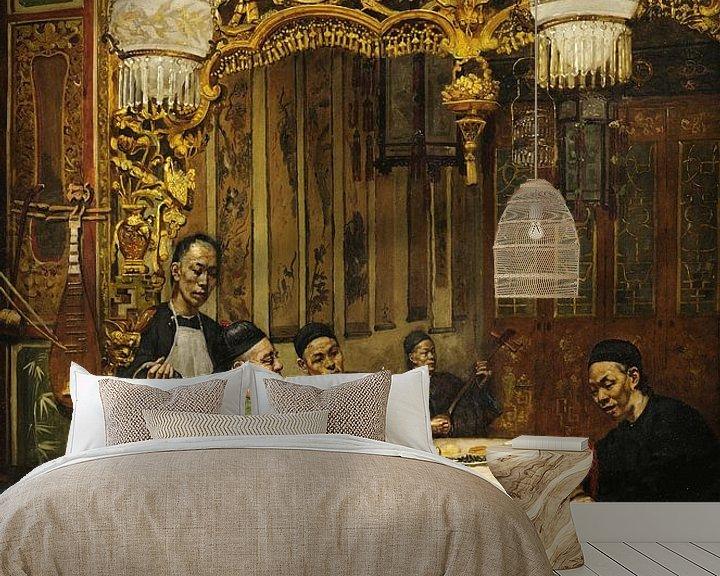 Beispiel fototapete: Chinesisches Restaurant, Theodore Wores