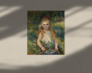 Mädchen mit Blumen, Pierre-Auguste Renoir