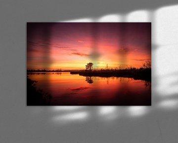 Magische zonsopkomst van Jeroen Mikkers