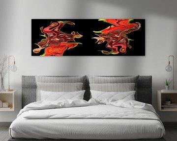 Schmetterlingskunst Nummer eins von Harry Eggens