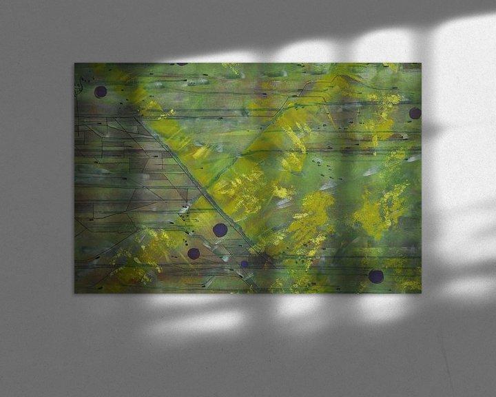 Beispiel: Die grünen Felder von Bregje Lips