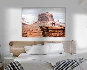 Monument Valley van Eric van Nieuwland