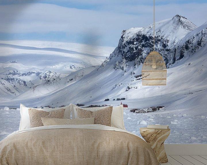 Sfeerimpressie behang: Ruige winterse schoonheid van Karla Leeftink