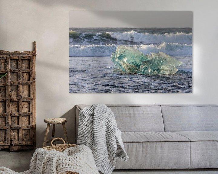 Sfeerimpressie: Overweldigende schoonheid in ijs van Karla Leeftink