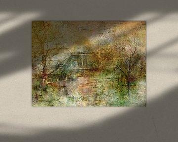 Vergessenes Haus im Wald von Claudia Gründler
