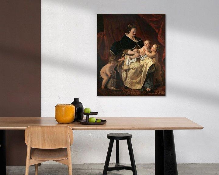 Beispiel: Mutter mit drei Kindern, Ferdinand Bol