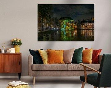 Projectie van Paulus Potter op het Mauritshuis van Marian Sintemaartensdijk