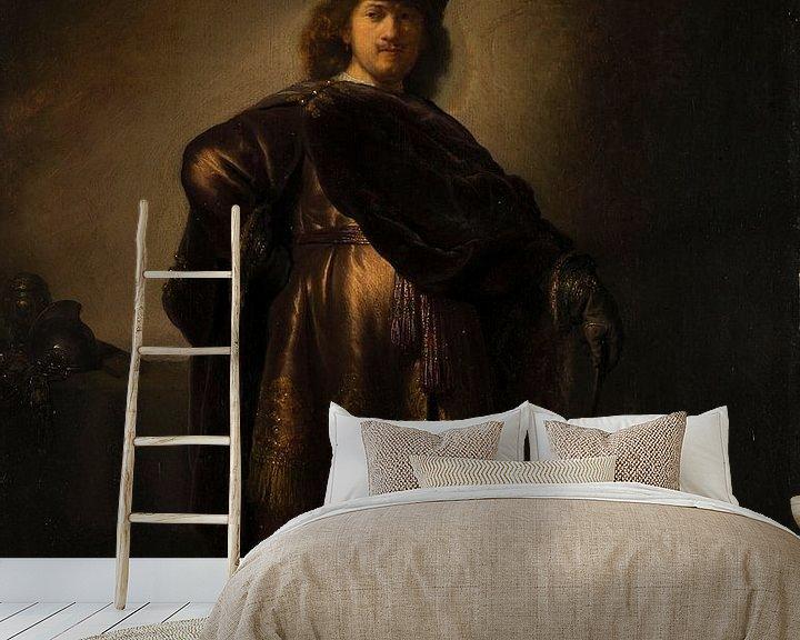 Beispiel fototapete: Porträt des Künstlers in orientalischer Tracht, Rembrandt van Rijn