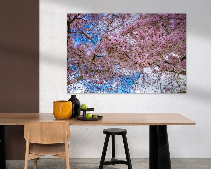Beispiel: rosa Blütenbaum von Fred Leeflang