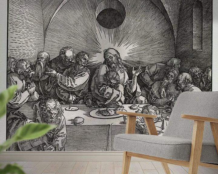 Beispiel fototapete: Das letzte Abendmahl, Albrecht Dürer von De Canon