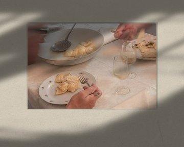 De pasta-eters van Frans Scherpenisse