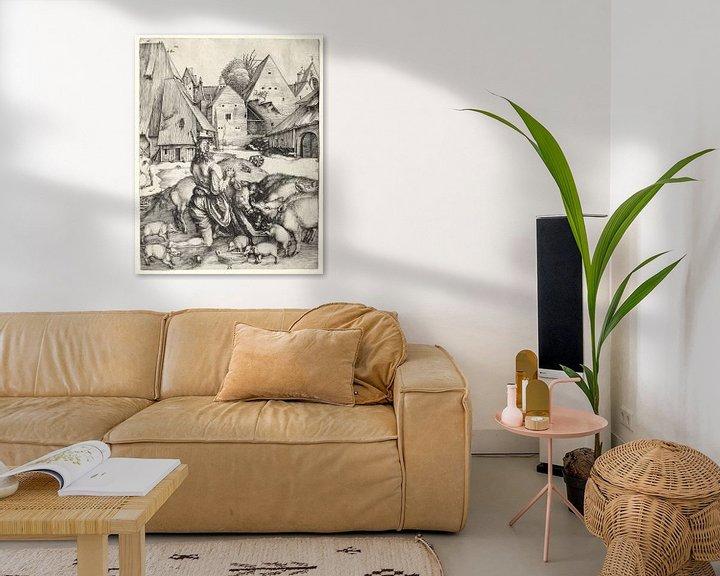 Beispiel: Der verlorene Sohn, Albrecht Dürer von De Canon