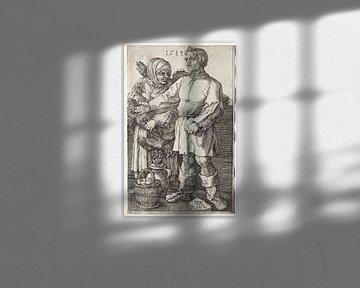 Die Bauern auf dem Markt, Albrecht Dürer von De Canon