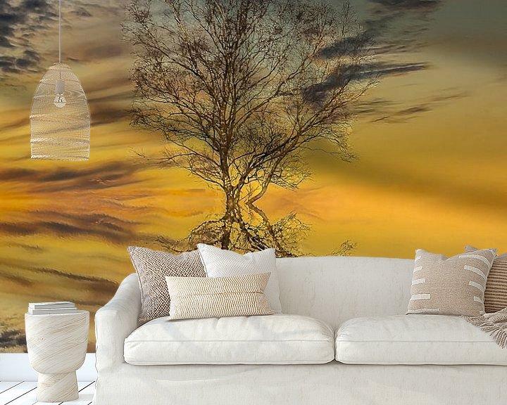 """Beispiel fototapete: """"Reflexionen"""" von Maarten Kost"""