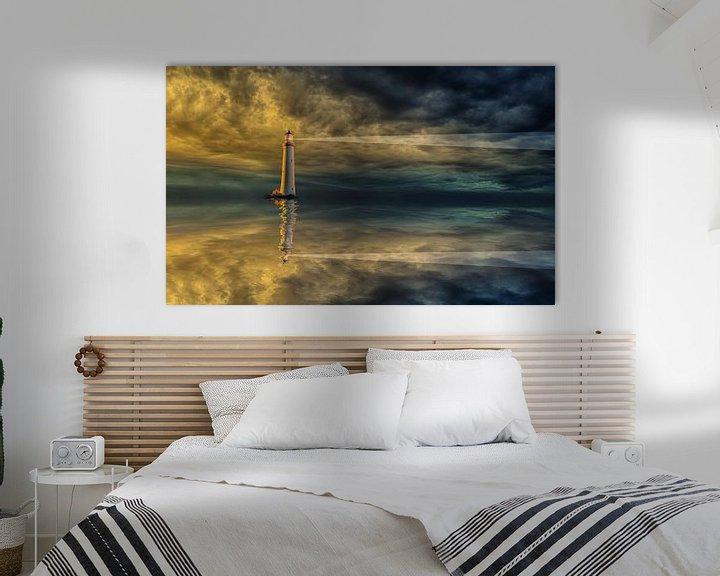 """Beispiel: """"Lighthouse"""" von Maarten Kost"""