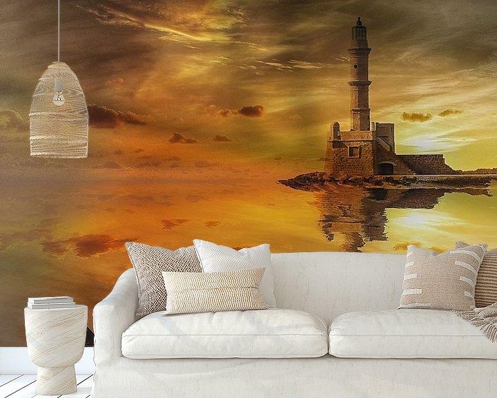 """Beispiel fototapete: """"Lighthouse"""" von Maarten Kost"""