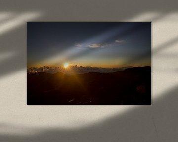 Lever de soleil sur Hawaï sur Christoph Schaible