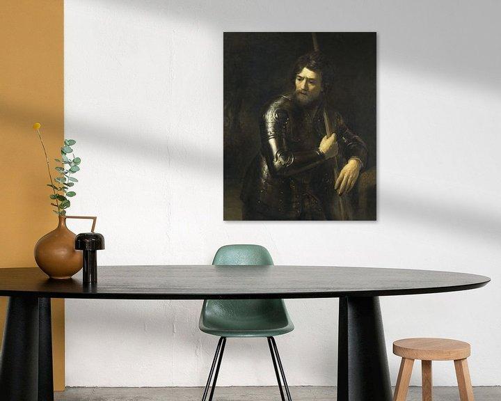 Beispiel: Porträt eines Offiziers im Geschirr, Willem Drost