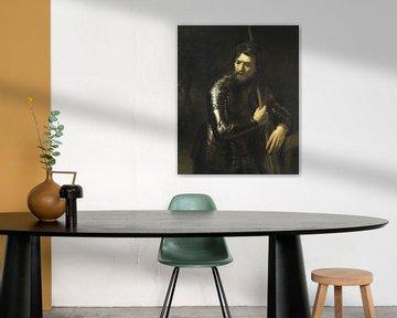 Porträt eines Offiziers im Geschirr, Willem Drost