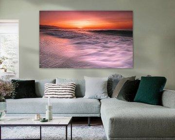 Zonsondergang in Kreta van Edward Sarkisian
