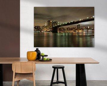 New York Skyline von Tineke Visscher