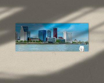 Panorama Rotterdam van Fred Leeflang