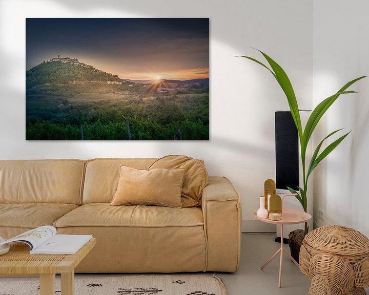 Sfeerimpressie: Countryside of  Istria - Croatia van Dennis Donders