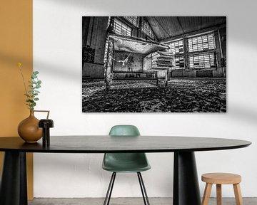 Vintage-Schreibtisch von Frans Scherpenisse
