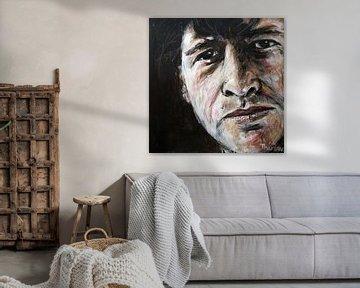 Portret van Herman Brood, Hermanus Brood van Therese Brals