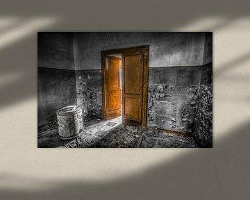 Oude deuren van Frans Scherpenisse