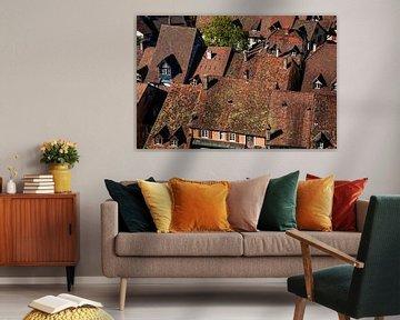 Dächer über der Altstadt von Jürgen Wiesler