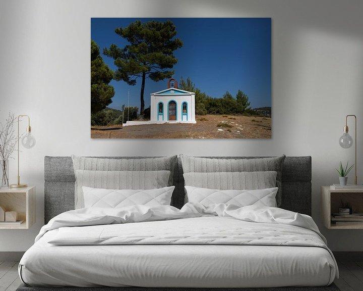 Sfeerimpressie: Kerkje op Samos van Elly Damen