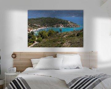 Uitzicht op Posidonio op Samos