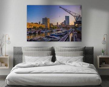 Rotterdam haven van Fred Leeflang