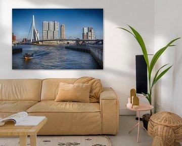 Watertaxi in Rotterdam von Fons Simons