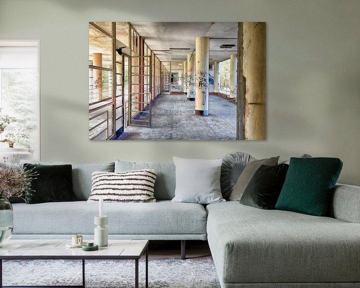 Sfeerimpressie: Hospitaal in België van Elly Damen
