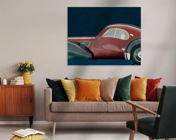 Sfeerimpressie: Bugatti Phoenix 57-SC Atlantic 1938 van Jan Keteleer