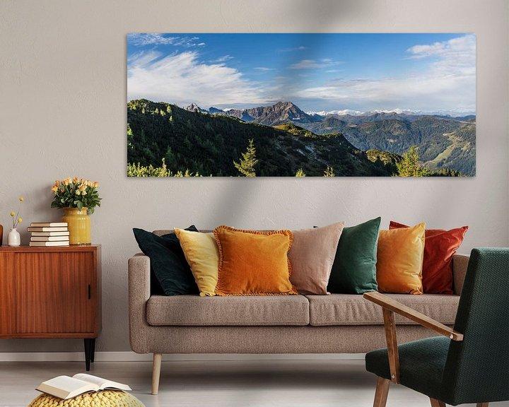 """Sfeerimpressie: Panorama """"Bergen in de herfst"""" van Coen Weesjes"""