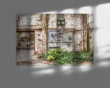 Verlassenes Gebäude Belgien von Elly Damen