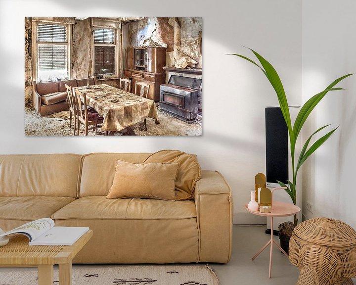 Beispiel: Verlassenes Haus in Belgien von Elly Damen