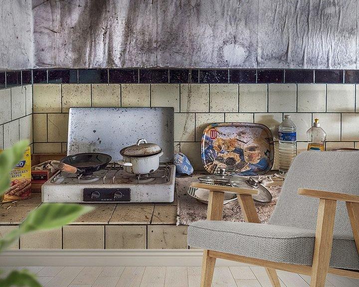 Beispiel fototapete: Verlassenes Haus in Belgien von Elly Damen
