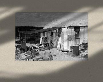 Verlassene Orte: Kneipe von Inge Hogenbijl
